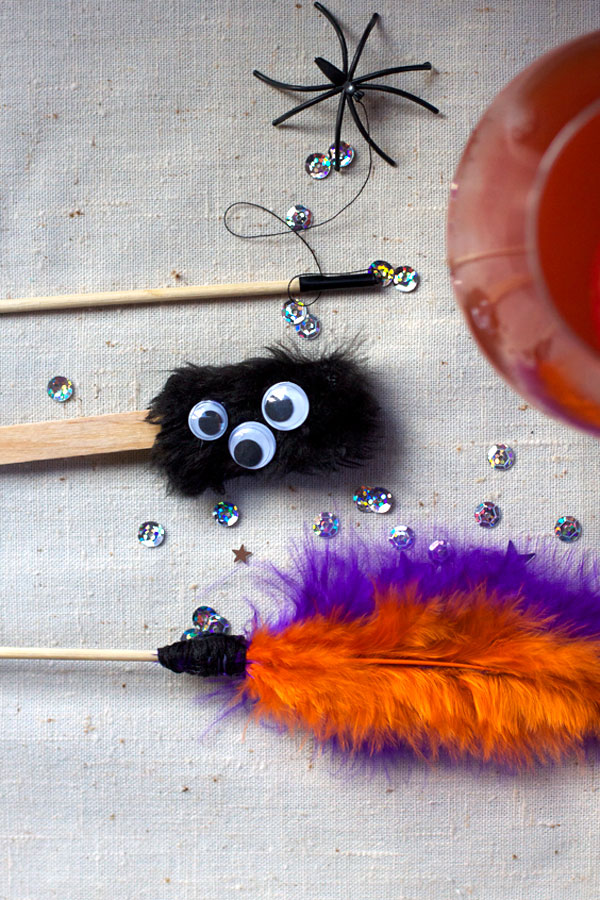 DIY Halloween Drink Stirrers for Party