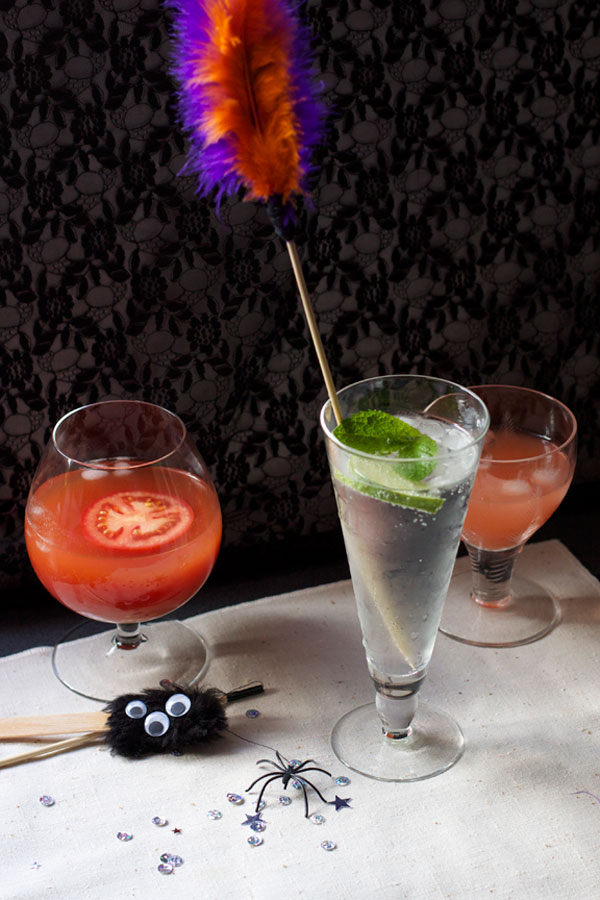 Simple DIY Halloween Drink Stirrers for Party