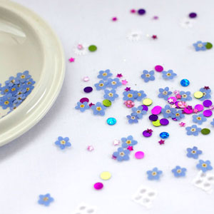 Pressed Flower Confetti