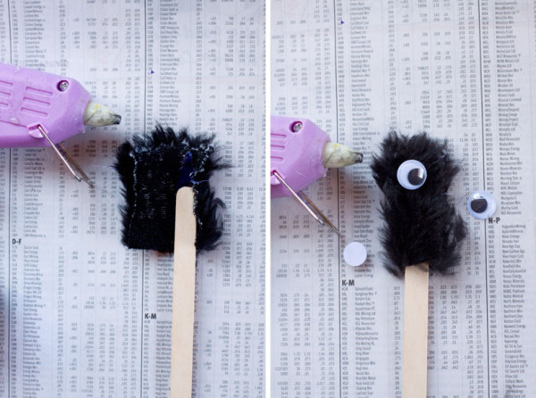 DIY Halloween Drink Stirrer - How to Make Monster