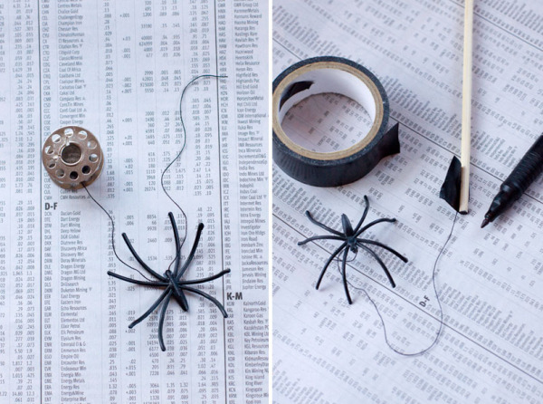 DIY Halloween Drink Stirrer - How to Make Spider