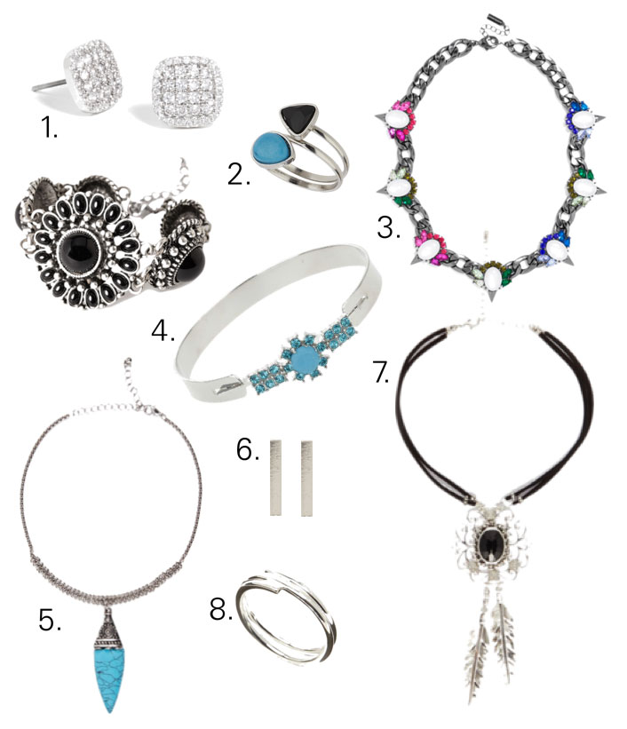 Jewellery Shopping Guide: March 2015 from ASOS, Forever 21, Baublebar, Topshop