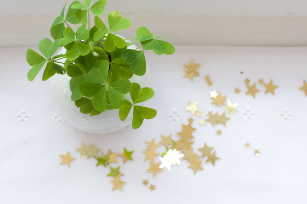 St Patrick's Day Mini Table Arrangement/Decoration Idea